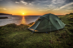 Wild Camping (bradders29) Tags: wildcamping sunset skye coralbeach tent camping scotland highlands