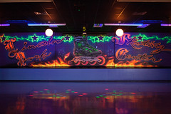(Jeremy Whiting) Tags: lincoln park skate center neon blacklight psychedelic dark low light canon digital photography facility photos jeremy whiting michigan detroit mi 313 downriver roller rink
