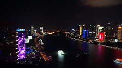 Shanghai Skyline (Anders Sellin) Tags: kina china shanghai the bund night kvll view beautiful city centre river financial district