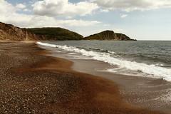 Worbarrow (JulianClementson) Tags: england dorset coast landscape sea waves beach shingle pebbles headland cape worbarrow bay worbarrowtout