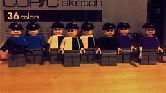 Henchmen (Lord Allo) Tags: lego batman dc 2007 henchmen mr freeze two face joker
