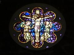 For some, madness. For others, love. (IgorCamacho) Tags: vitral stainedglass igreja church catlica catholic catedral jesus vida life angels anjos art arte