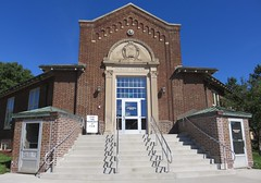 Public Library (Chisholm, Minnesota) (courthouselover) Tags: minnesota mn saintlouiscounty stlouiscounty chisholm libraries northamerica unitedstates us