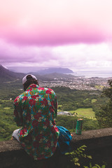 Views (Anthony Aguirre Visuals) Tags: honolulu kaneohe hawaii island lucky we live hi usa ca california ocean beach waves view views canon eos 70d supreme pali lookout look out 24 70 f4 sky cloudy clouds fog rain sun