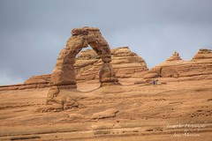 Delicate Arch - Arches National Park - Utah (Freshairphotography) Tags: delicatearch archesnationalpark utah nationalpark arch nature natural entradasandstone sandstone unique amazing tourism hike interesting