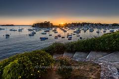 Saint Briac (http://arnaudballay.wix.com/photographie) Tags: 2016 bretagne juillet mer nikkorafs24120mmf4 vacances saintbriacsurmer france fr dinard illeetvilaine brittany cotesdarmor plage beach marina sunset