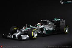 Mercedes AMG Petronas F1 W05 Hybrid (JOJO BEE - DIECASTCARSGROUP) Tags: mercedes benz amg petronas w05 hybrid f1 formula1 formulaone 2014 world champion lewis hamilton lh 44 abudhabi gp winner 118 scale model replica diecast minichamps pma paulsmodelart