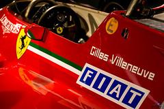 Gilles' Office (glank27) Tags: gilles villeneuve ferrari 126c f1 1981 karl glanville maranello fiat red prancing horse canon eos 70d efs 1585mm f3556 italy