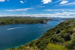 DSC03730-2 (UmitCukurel) Tags: sunset zadar croatia sea bridge sky travel ibenik ibenskokninskaupanija hr