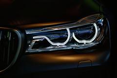 Headlight (orkomedix) Tags: bmw v12 m760li xdrive canon 70300l 6d welt headlight hdr nik closeup indoor m power