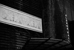 UP Walkabout (riacale) Tags: city bw white black up hall university philippines diliman quezon aldaba