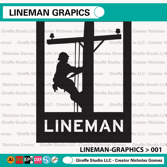 Lineman Graphic