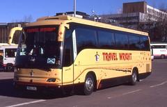 Travel Wright . Newark , Nottinghamshire . YR52ZKC . Buchanan Street Bus Station , Glasgow . Tuesday 04th-April-2006 . (AndrewHA's) Tags: travel holiday man bus coach tour glasgow buchananstreet wright newark nottinghamshire noge 18350