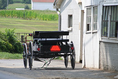 Intercourse - PA (Roby_BG) Tags: red usa black lights pennsylvania wheels amish intercourse buggy redlights amishcountry calesse