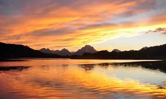 Sunset at Oxbow Bend (explored) (Iftekha
