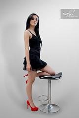 KR (zmfg!) Tags: woman sexy beautiful fashion mexicana glamour legs mexican heels tacones hermosa vestido piernas glamur zmfg
