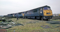 Old before their time (geoff7918) Tags: swindon 1064 1025 regent 1012 guardsman firebrand laira 01051976