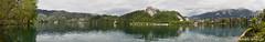 Lago Bled - ESLOVENIA (2012) (Nando Garcia) Tags: landscape lago pano panoramic bled eslovenia panormica