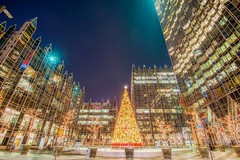 The Christmas tree at PPG Place at night in HDR (Dave DiCello) Tags: beautiful skyline photoshop nikon pittsburgh tripod usxtower christmastree mtwashington northshore northside bluehour nikkor hdr highdynamicrange pncpark thepoint pittsburghpirates cs4 ftpittbridge steelcity photomatix beautifulcities yinzer cityofbridges tonemapped theburgh clementebridge smithfieldstbridge pittsburgher colorefex cs5 ussteelbuilding beautifulskyline d700 thecityofbridges pittsburghphotography davedicello pittsburghcityofbridges steelscapes beautifulcitiesatnight hdrexposed picturesofpittsburgh cityofbridgesphotography