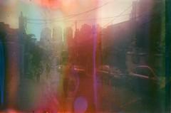 #354 ([ iany trisuzzi ]) Tags: street brazil film brasil analog 35mm sãopaulo lightleak sp olympustrip35 project365 fujifilmsuperiaxtra400 365days filmsoup