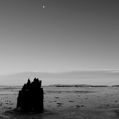 moon over the giant (Jeremiah John McBride) Tags: bw moon lakesuperior thunderbay sleepinggiant bullfrogphoto jeremiahjohnmcbride