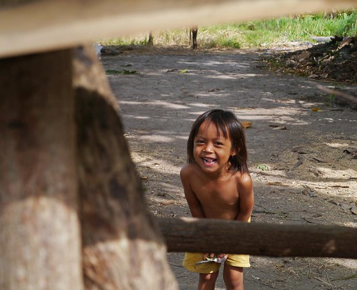 Labuan Haji village kid, Moyo Island