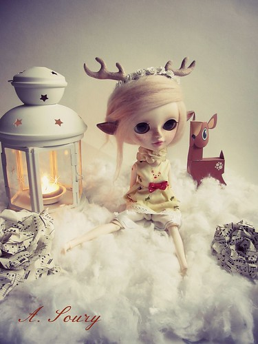 Céleste,little deer doll