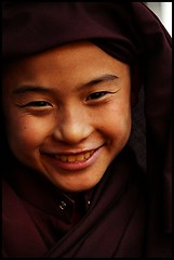 Little Monk (Midhun Manmadhan) Tags: portrait smile little candid monk sikkim gangtok