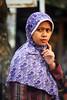 2009_04_01_9999_404fr (Mangiwau) Tags: hot streets west girl fashion scarf shopping indonesia asian java veil dress butt hijab babe sidewalk jakarta denim raya roadside jalan indonesian islamic garb cantik chequered jilbab cewek beib banten ciputat montok tangsel