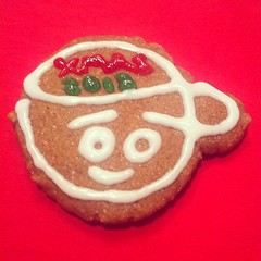 LEROY DROWN (billy craven) Tags: xmas cookie moniker boxcarart leroydrown uploaded:by=instagram