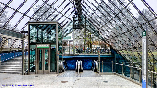 St Platz München munich bavaria germany st quirin platz station atrium with an