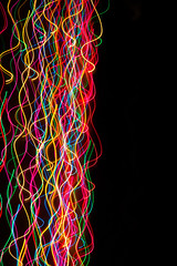 Christmas Lights 6 (Jon Matthies) Tags: christmas holiday abstract motion blur electric dark hair lights decoration pan spaghetti icm intentionalcameramovement