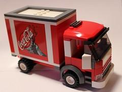 LEGO Coke Truck (notenoughbricks) Tags: lego sprite coke dietcoke cocacola hic therealthing legocity legotruck legomoc legodeliverytruck legosoda legosodatruck