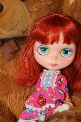 Custom #11: Red girl