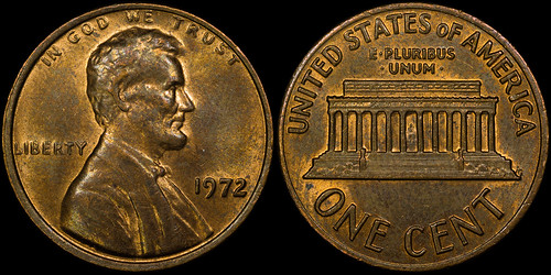1972 Lincoln Memorial Cent DDO