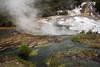 Geothermally Active (Nita J Y) Tags: blue newzealand plants brown white green nature water yellow canon volcano rotorua steam northisland algae geyser hotspring geothermal hiddenvalley boiling bayofplenty orakeikorako nitaw
