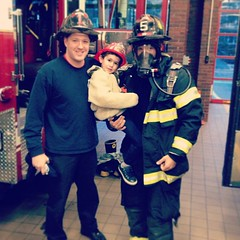 Babbo, Quinn and Cam at Brookline Fire House #5 - December 2012 (eliotm) Tags: square fire nashville cam squareformat quinn brookline babbo iphoneography instagramapp uploaded:by=instagram foursquare:venue=4dbd66e74b222080d3a81e54