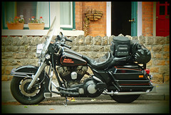 Ready for the Road... (David_Sillitoe) Tags: bike harley motorbike bmw motorcycle biker davidson touring motorcycling