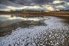MPW_5129_30_31 (Michael-Wilson) Tags: winter sunset arizona lake snow clouds az willow prescott