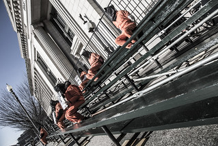 Witness Against Torture: Inaugural Bleachers