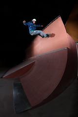 Sergi Nicolas - Wallride (EsteveSegura) Tags: park door 360 indoor skatepark nicolas skate sergi andorra segura esteve extrem streetboard strobist