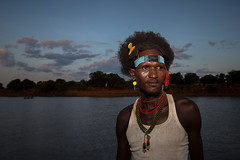 portrait of a boy Dassanech(galeb) tribe style on the omo river (anthony pappone photography) Tags: coiffure pettinatura capanna collane necklace travel ritratto retrato reportage pose portraiture portrait picture phototravel photography photograher photo image fotografia foto faces expression eos5dmarkii digital culture canon africa omorate boy ragazzo hairstyle dassanech tribe omo omovalley loweromovalley low