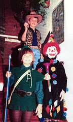 Image titled Daren, Orla and Neive Maxwell Halloween 1989