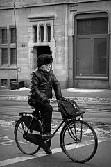(Iam Marjon Bleeker) Tags: winter cold holland amsterdam bike bicycle biker rokin winterinamsterdam bikerinamsterdam manonabikeinamsterdam martinwinter134zw