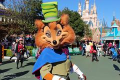 Meeting J. Worthington Foulfellow (Disney Dan) Tags: travel autumn vacation fall japan october character disney characters fantasyland t