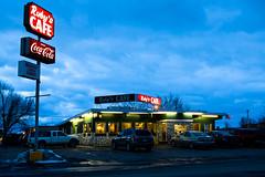 Ruby's Cafe (John Sieber) Tags: food cafe montana diner regentstreet missoula bluehour rubyscafe