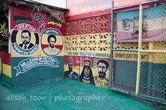 Jamaica-MoBay-Downtown-6361 (alison.toon) Tags: city copyright restaurant town mural downtown photographer jamaica vegetarian rasta montegobay onelove rastafarian ital donteatthem bekindtoanimals alisontoon