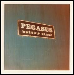Travels With My Instamatic 22.    1969. (Kingfisher 24) Tags: pegasus 104 warship d835 northbritish oldoakcommonlondoninstamatic