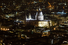 IMG_9946 (View from The Shard) (Bucks nature tog) Tags: from building st night view cathedral time platform pauls shard tallest the europes