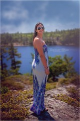IMG_0101 (DESHAN SILVA) Tags: sky lake face beautiful dress girl canon5d canon